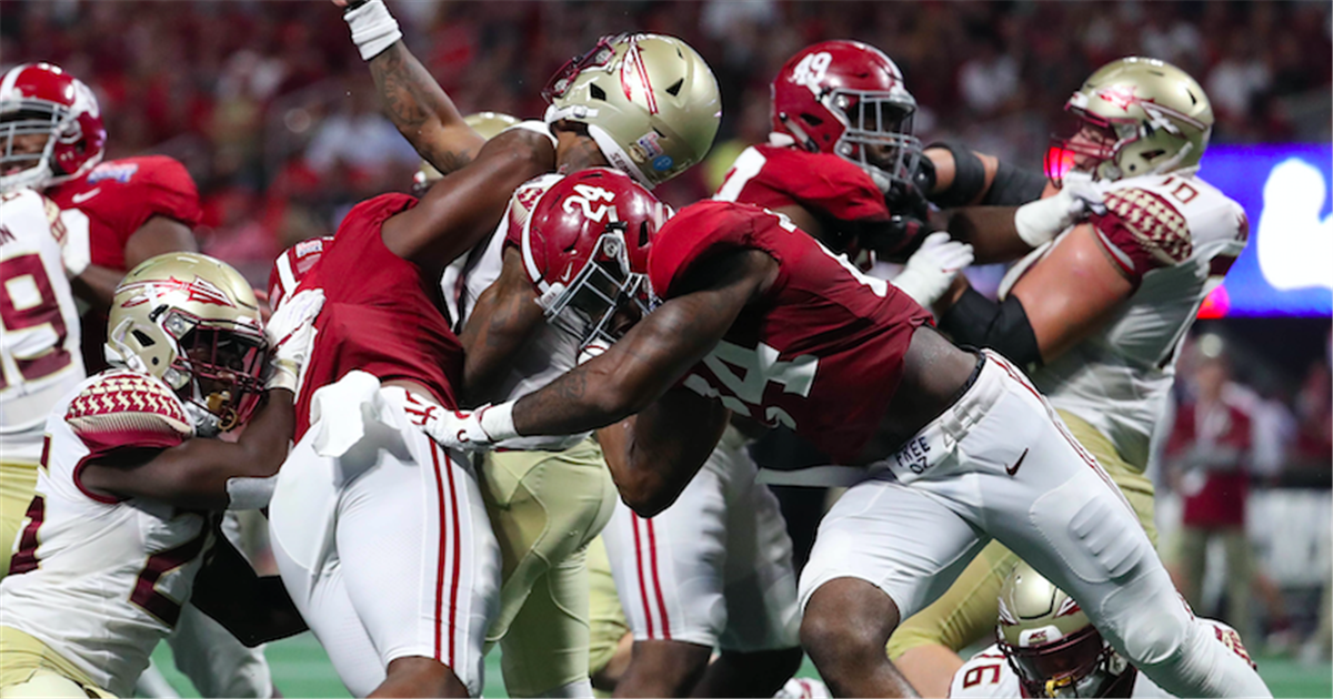 A Quartet Of Alabama Linebackers Sustained Injuries In Alabama S 24 7 Win Over The Florida Alabama Crimson Tide Football Crimson Tide Football Alabama Football