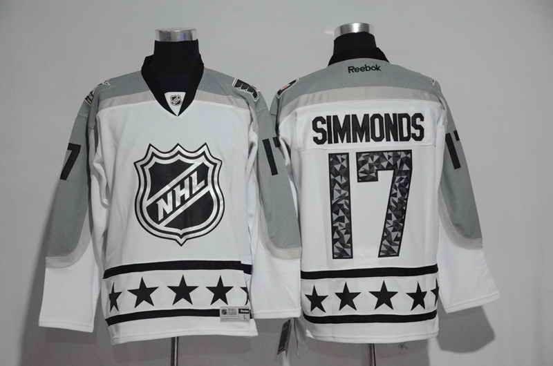 Men s Philadelphia Flyers Ice Ice Hockey Shirts Wayne Simmonds Reebok White  2016 NHL All-Star Premier Jersey 782ef6cf7c0
