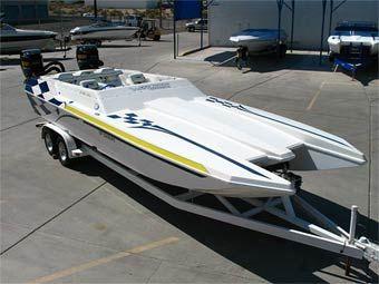 2000 Warlock 25 Sxt Cat For Sale Stock Wax656c Used Boats Boat Power Boats