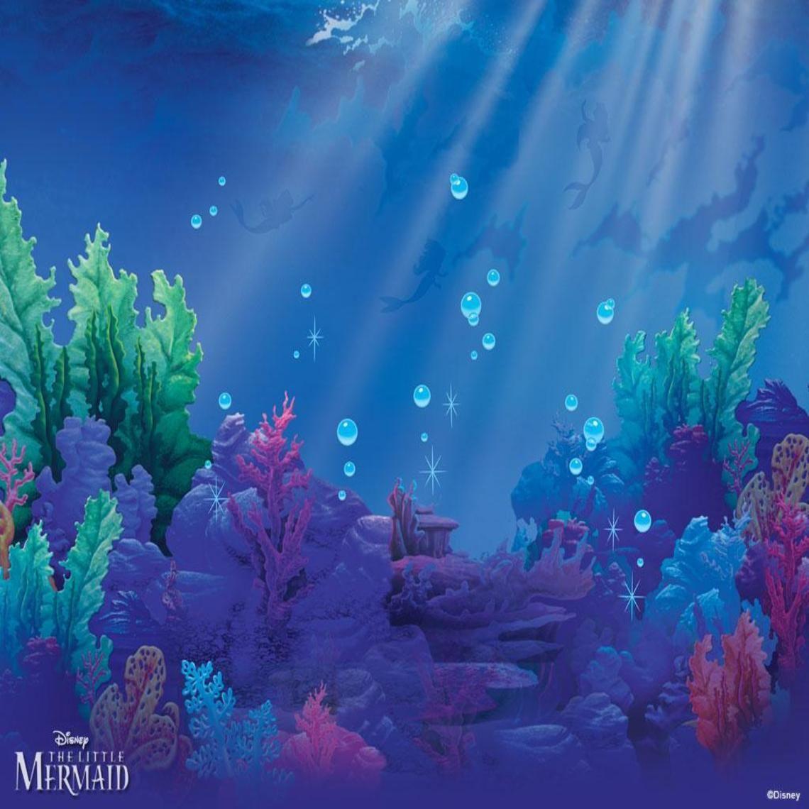 The Little Mermaid Fiestas de sirenita, Pinturas, Sirenas
