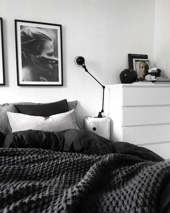 Schlafzimmer neu gestalten in Grau & Weiß #schlafzimmerideen