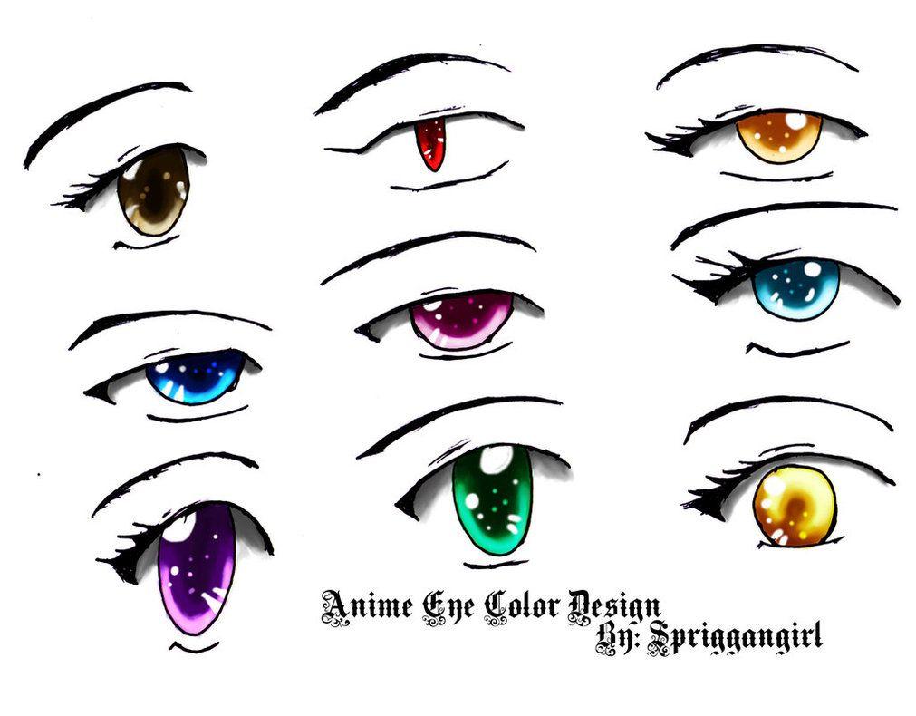 Anime Eye Color Design Girl Eyes Drawing Anime Eyes Manga Eyes