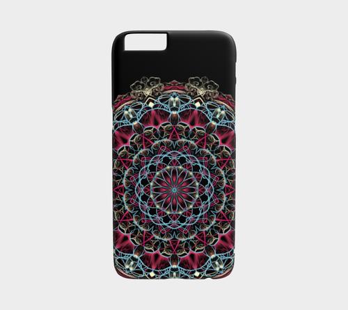 Cotton Candy Mandala Device Case by Dustin Zane Poole by