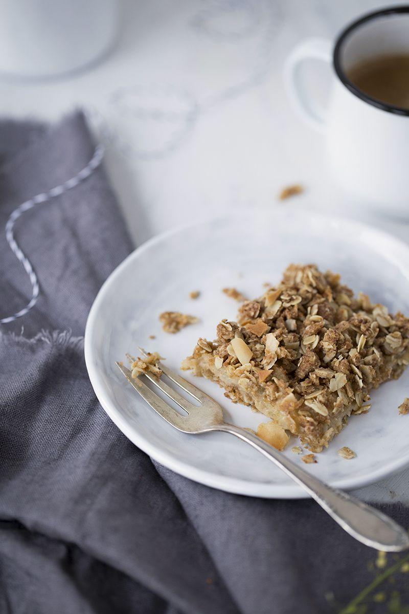 Apfel Kokos Kuchen Chia Quiona Amaranth Hirse Buchweizen