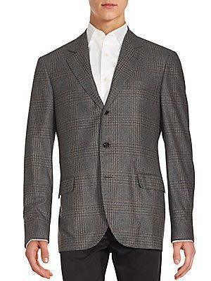 Plaid Sport Notch Lapel Sportcoat 19ef80b242bb2