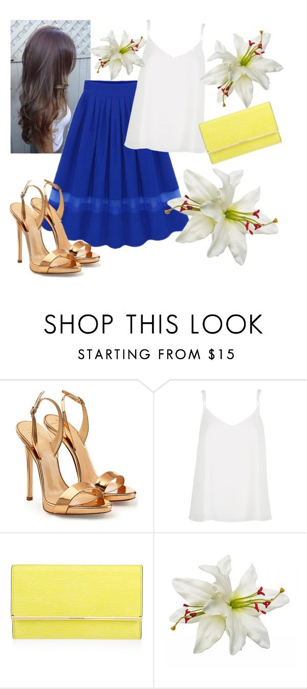 """""""Untitled #241"""" by laurabolovaneanu ❤ liked on Polyvore featuring Giuseppe Zanotti, River Island, Henri Bendel, women's clothing, women, female, woman, misses and juniors"""