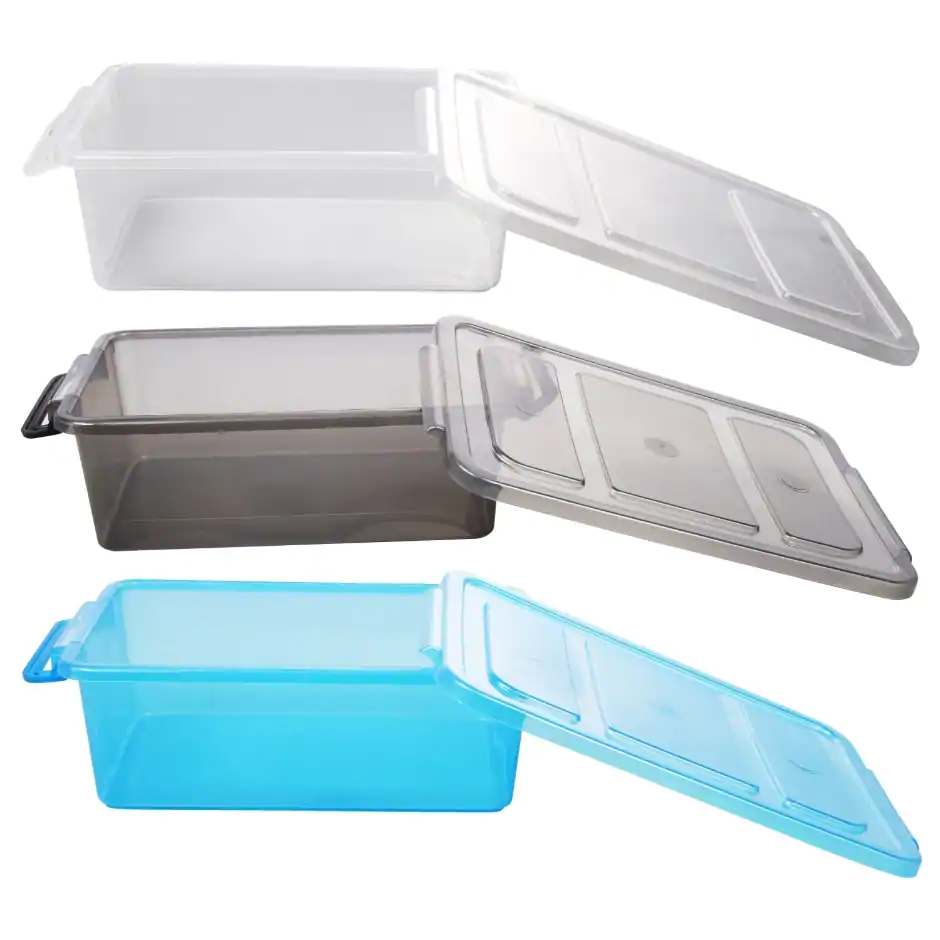 View Translucent Plastic Storage Boxes with Plastic box
