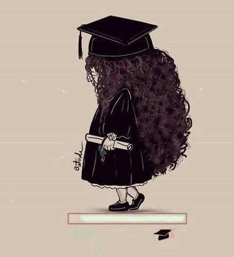 Pin By Ghazal Bar On Craduation Day Girly Drawings Girls Cartoon Art Cute Art