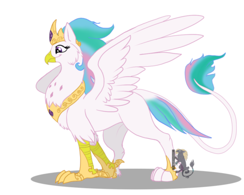 So cool the princess as a griffon!!:D and I did not make it and I am not stealing art