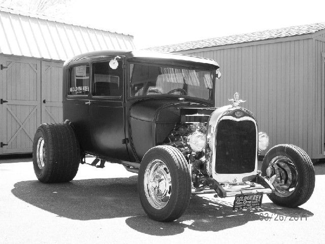 Golden Key Auto Sales Our Mascot 1929 Ford Hot Rod   Car, Truck and