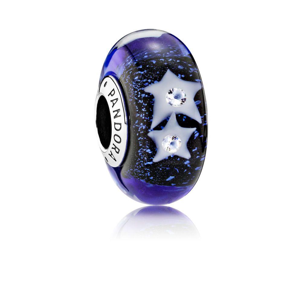 Starry Night Murano Glass Charm Pandora Australia Estore