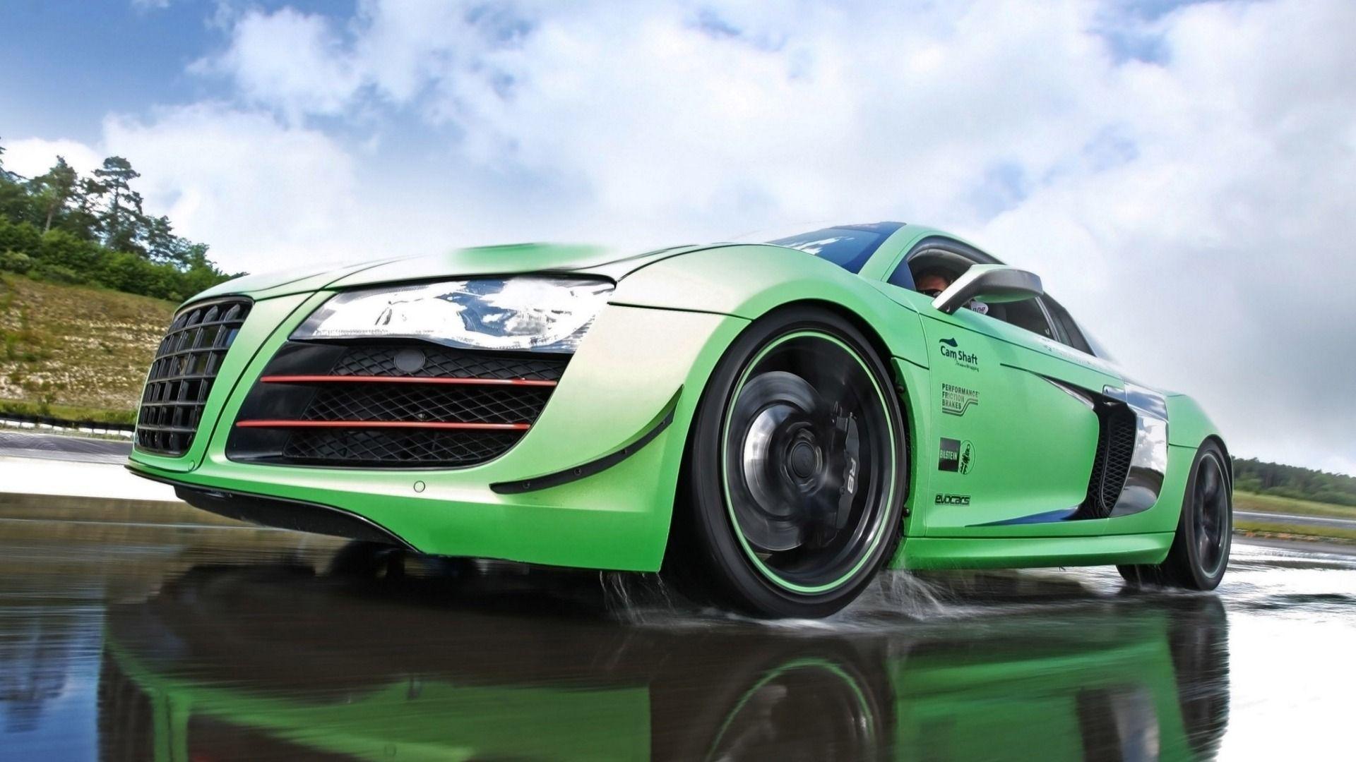 Audi R8 Green Hd Wallpapers 1080p Cars Audi Audi R8 Audi R8 Wallpaper