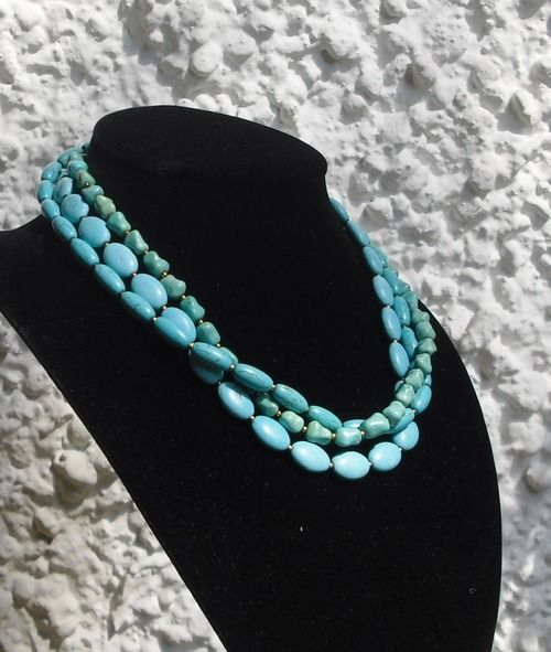 Turquoise, Turquoise, Turquoise  http://www.etsy.com/shop/CarlaDiVolpe