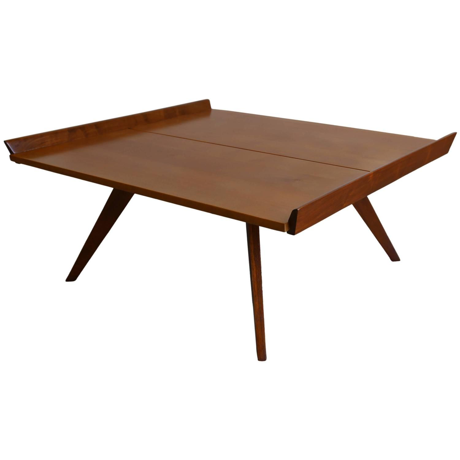 M10 Coffee Table By George Nakashima For Knoll 1