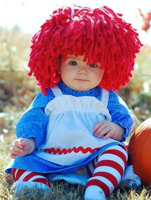 Disfraces para beb s raggedy ann costumes and halloween - Disfraces bebe halloween ...