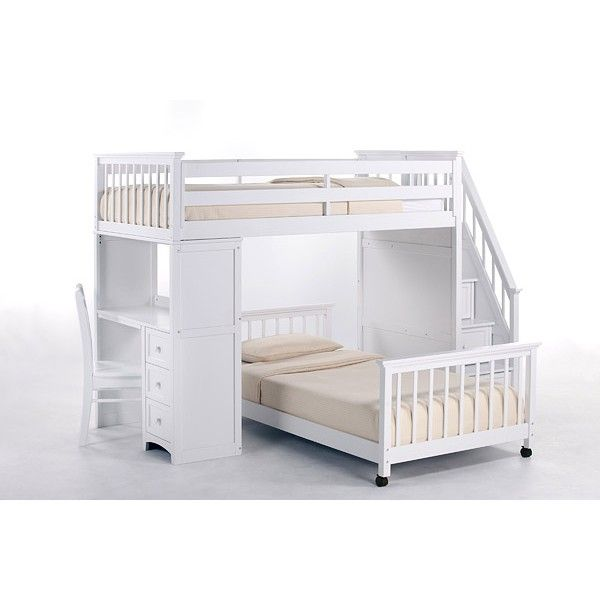 Good Full Size Loft Bed With Built In Stairs | Loft Beds   Kidzone Furniture |  Oklahoma