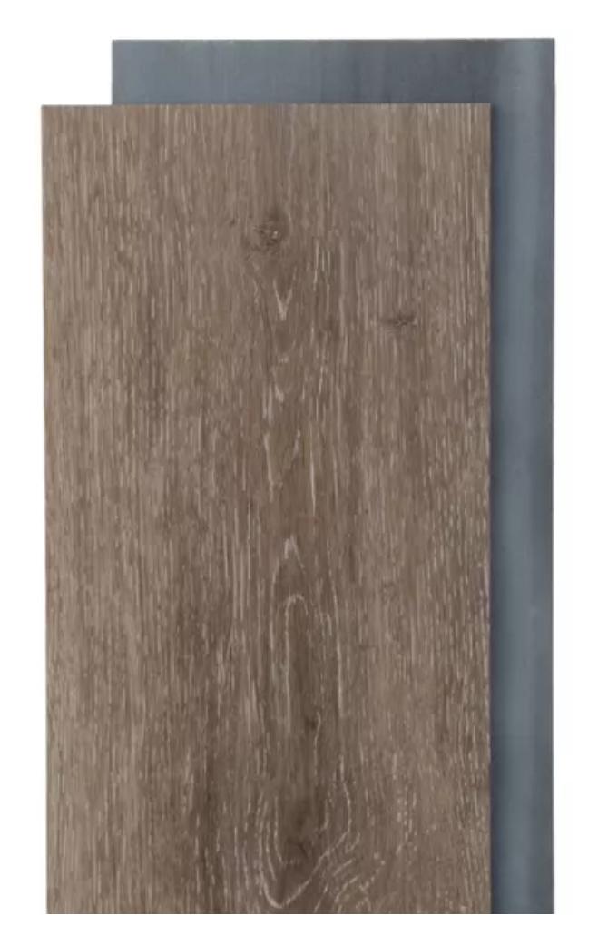 Trafficmaster Khaki Oak 6 In W X 36 In L Luxury Vinyl Plank Flooring 24 Sq Ft Case 185312 The Home Depot In 2020 Camper Flooring Diy Rv Vinyl Plank Flooring
