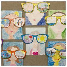 Kunst in der Grundschule: Sonnenbrillen
