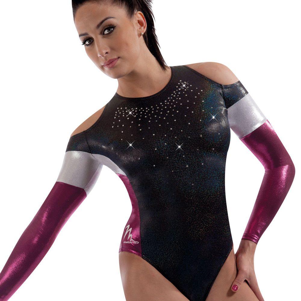 Milano Pro Sport Gymnastic leotard \'Sophia 161202\' - Sizes 26\
