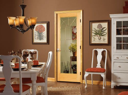 Interior Door IM-BL-SD630-redoak IM-BL-SD1G-redoak Red Oak Wooden Door BL Series …