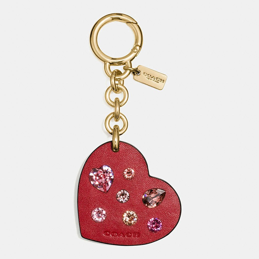 Fabric Hearts African Heart Charms Key chain Bag Charm Party Favor