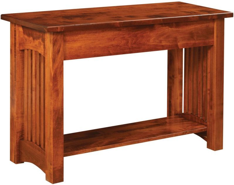 Rincon Square Spindle Sofa Table Amish Furniture Sofa Table Furniture