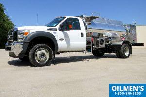 Ford F550 4x4 Fuel Truckwith 1 000 Gallon Aluminum Tank Fuel Truck Tanker Trucking Ford F550