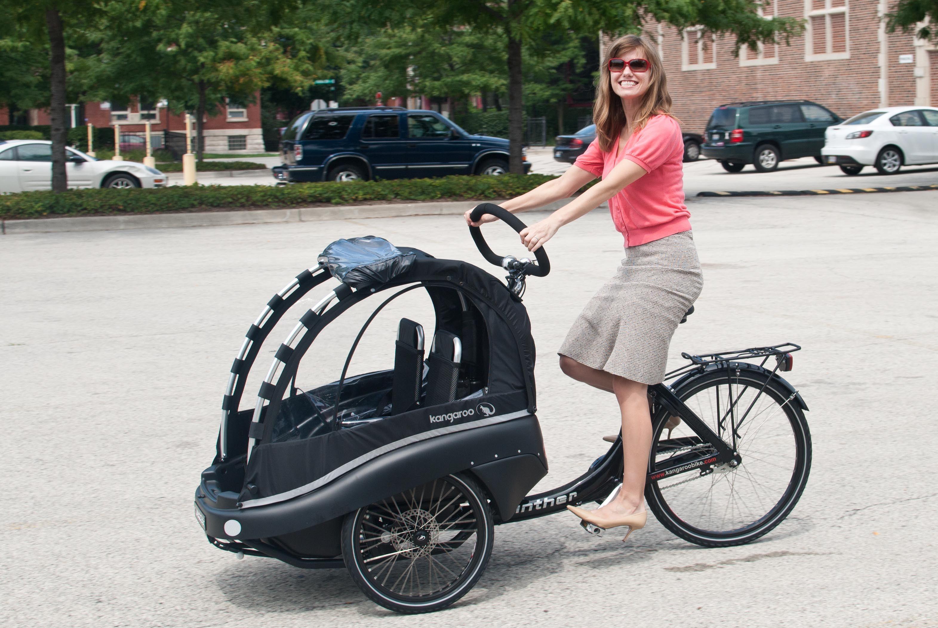 Beautiful Bicycles Kangaroo Family Bike Baby bike