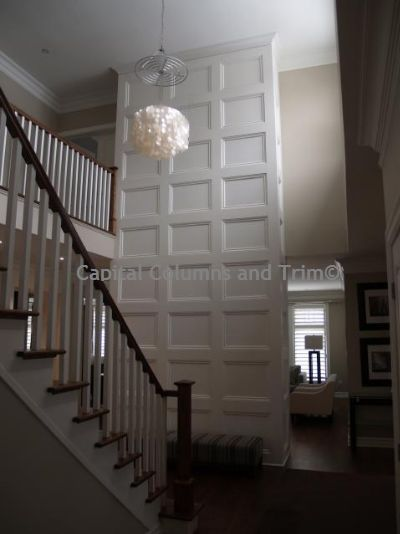 full wall accent wall wainscoting can be installed anywhere
