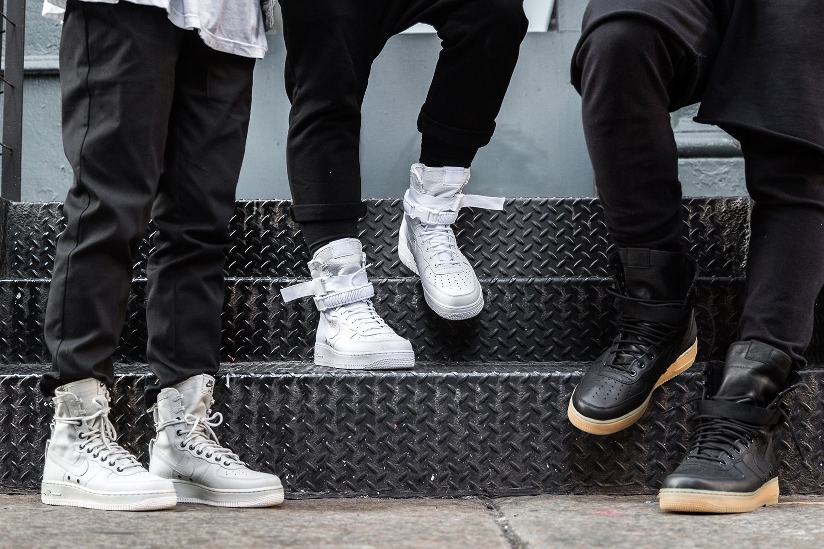 An Onfeet Look At The Nike Special Field Air Force 1 Casual Boots Outfit Nike Air Force Ones Nike