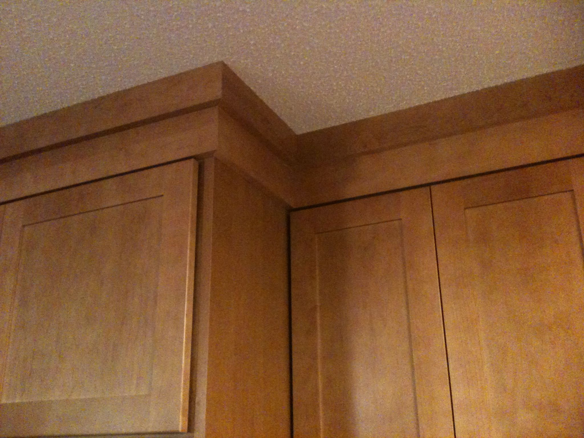Crown Moulding Above Kitchen Cabinets Custom Designed Crown Moulding Stack Kitchen Remodels
