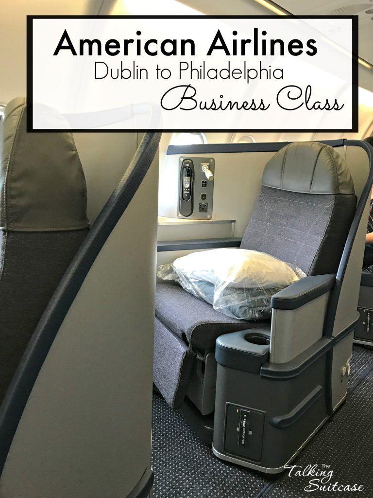 American Airline Business Class Review Dublin To Philadelphia Luxury Business Class American Airlines Business Class Flight
