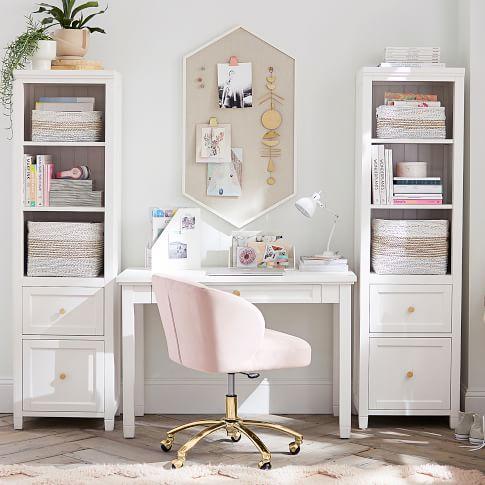 Beadboard Classic Desk Bureau Pour Adolescente Deco Chambre