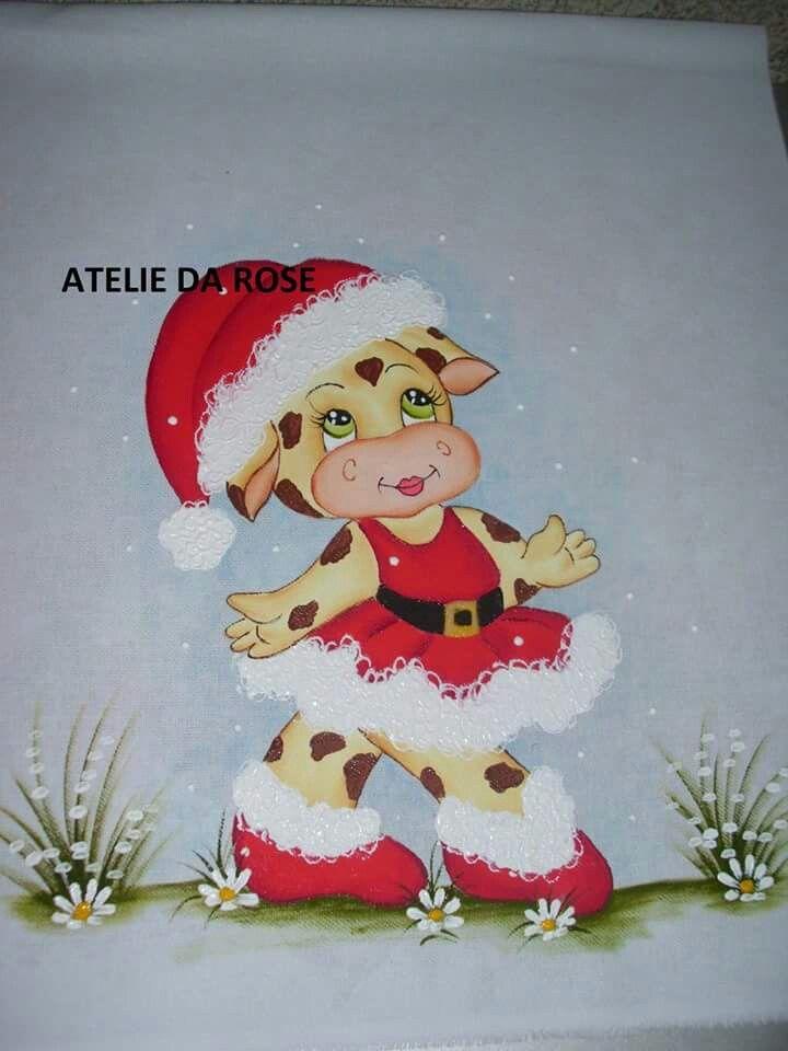 Pinturas Desenhos De Natal Coloridos Pintura De Natal Desenho