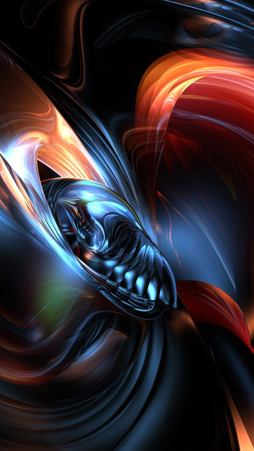 Abstract 3D iPhone X Wallpaper | iPhoneWallpapers | Iphone wallpaper, 3d wallpaper for mobile ...