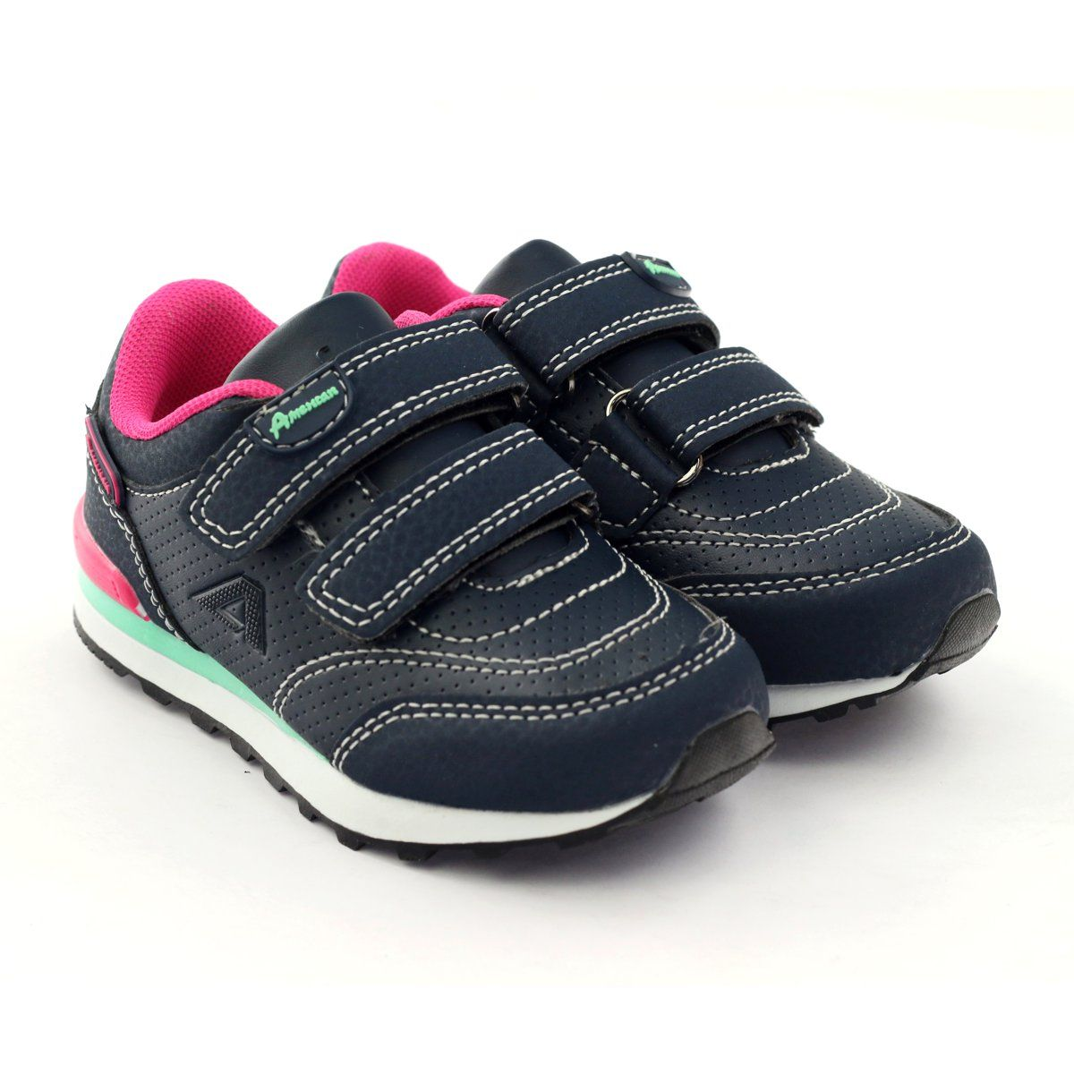 American Club Adi Sports Sneakers Navy American D1 Pink Multicolored White Navy Blue Sneakers Blue Sneakers Sport Sneakers
