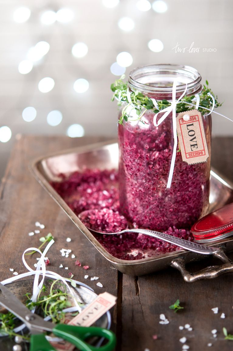 Red wine sea salt. It makes such a sweet little #gift idea and we adore the #LOVE tag. via @Rachel Jane ~ Two Loves Studio