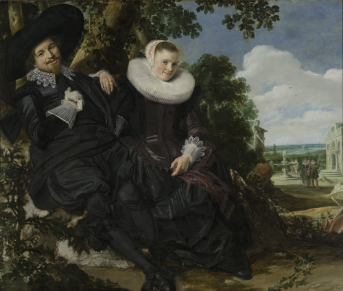 Frans Hals: Married Couple in a Garden c.1622