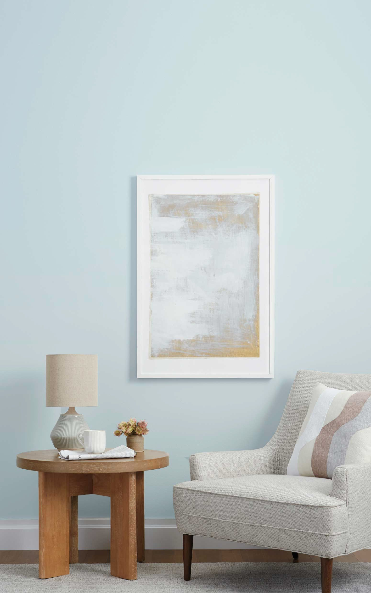 Clare Paint S Light Blue Is The Newest Color Trend Light Blue Living Room Paint Colors For Living Room Living Room Colors