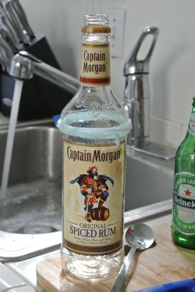 How To Cut Glass Bottles Safely Crafts Diy Pinterest Bottle