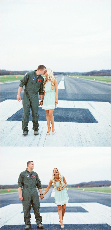 Whitney & Caleb Pilot wedding, Military engagement