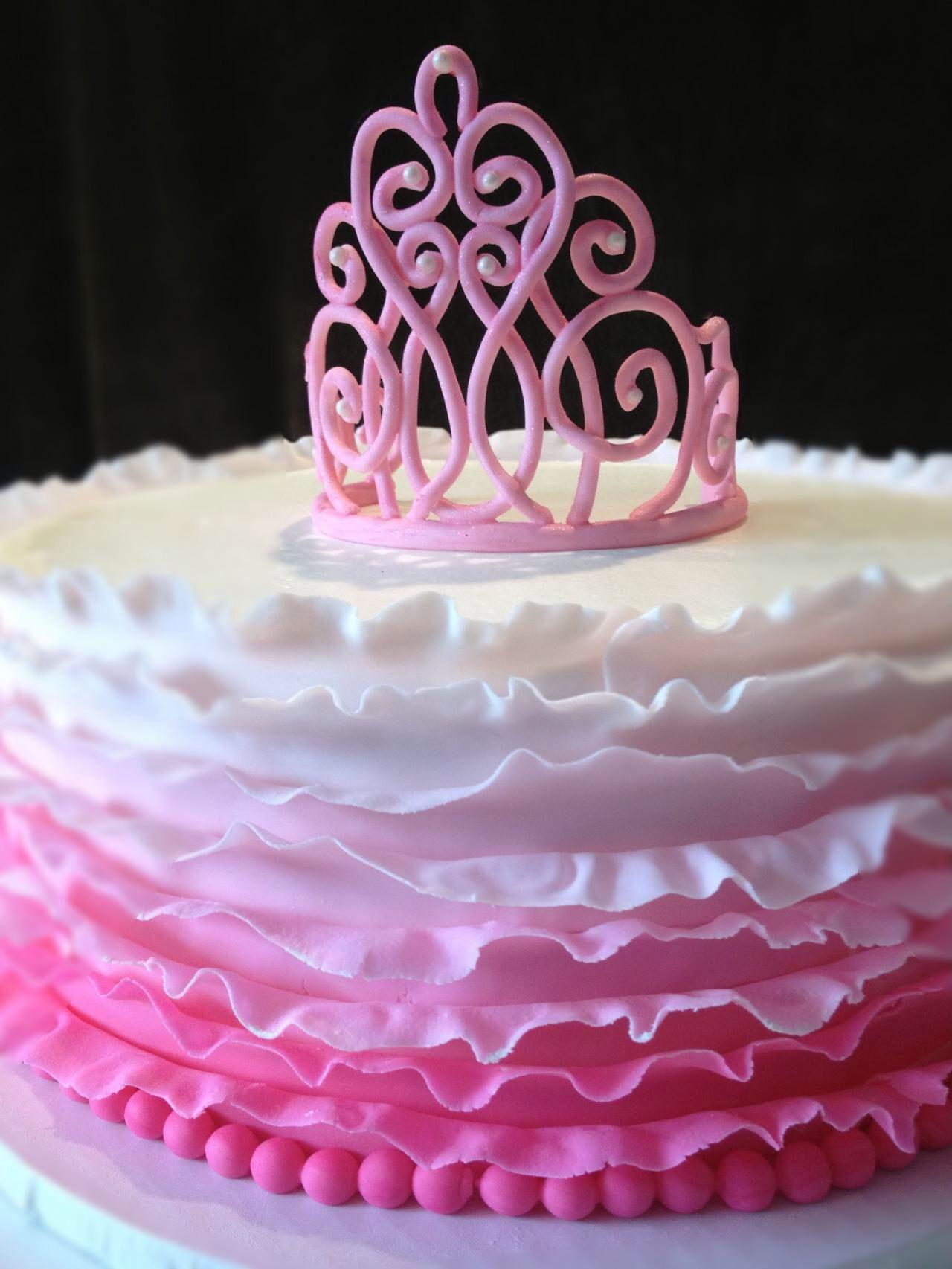Tutu And Tiara Cake