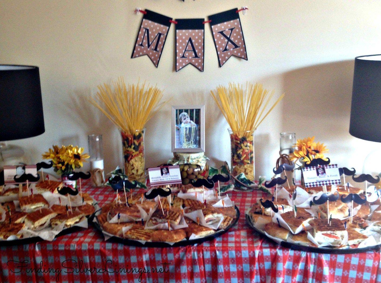 Max 39 s italian themed birthday party entertaining ideas for Italian party