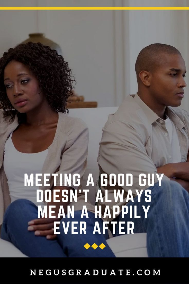 Meeting a good man