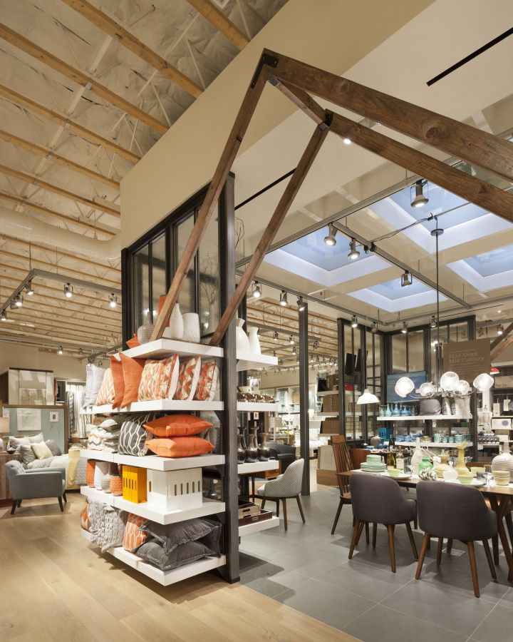 Interior Decor Stores: West Elm Home Furnishings Store By MBH Architects, Alameda