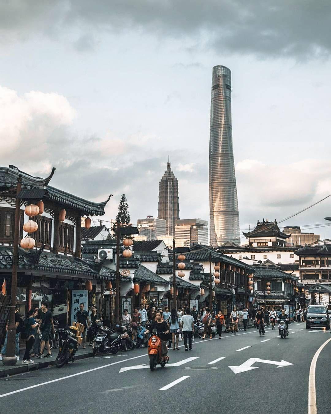 Instagram Old Shanghai City Aesthetic Shanghai City