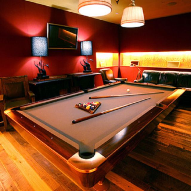 Luxury Man Cave Game Room Bar With Images: Billiard Room, Man Cave Home Bar, Game Room
