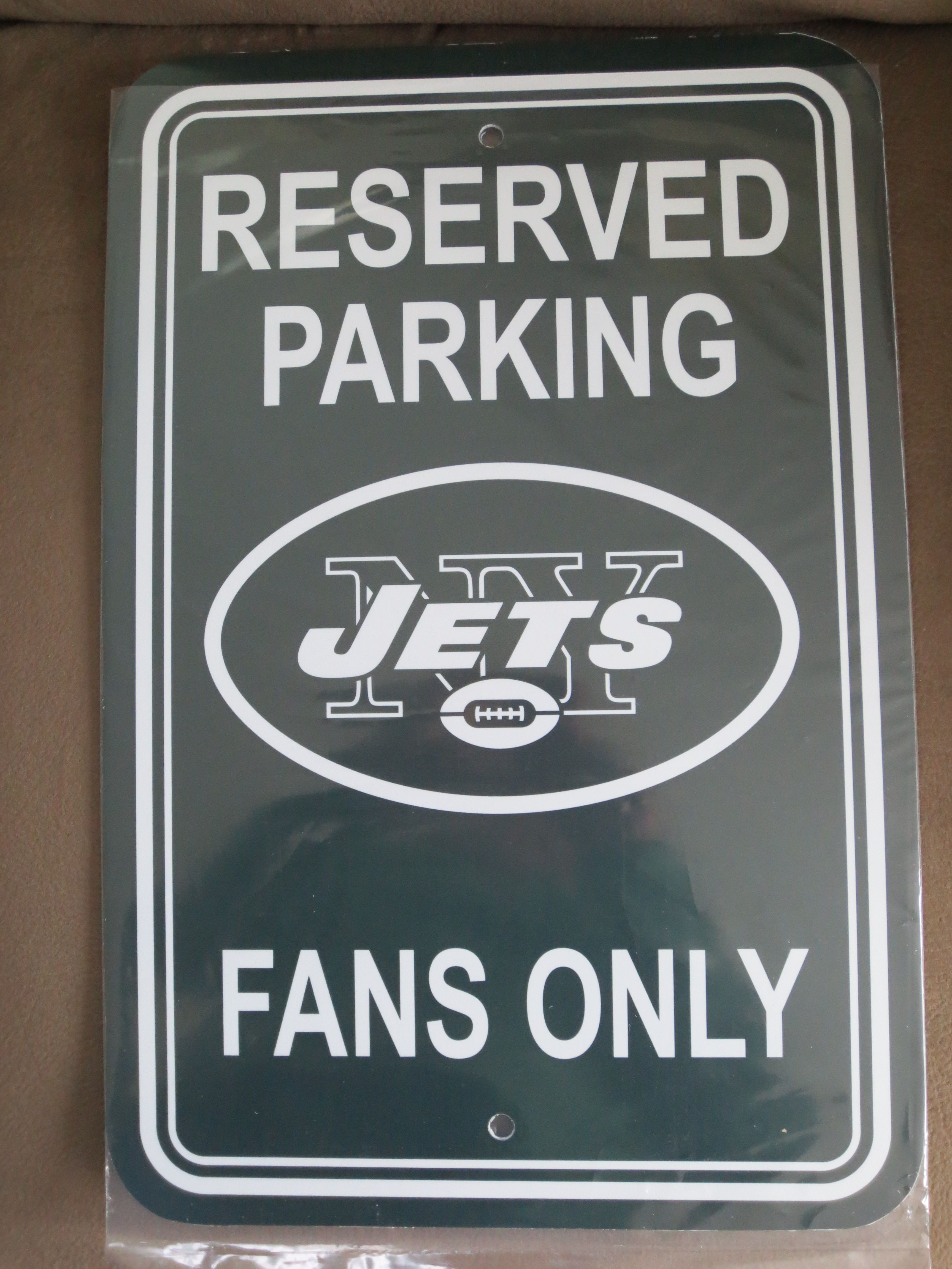 NY Jets Parking Sign New york jets, Ny jets, Reserved
