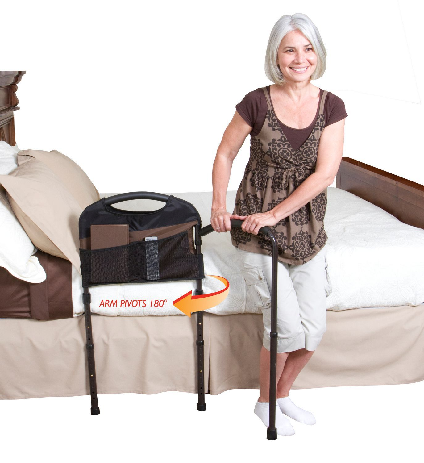 Stander Mobility Bed Rail Walmart Ca Heavy Duty Adult