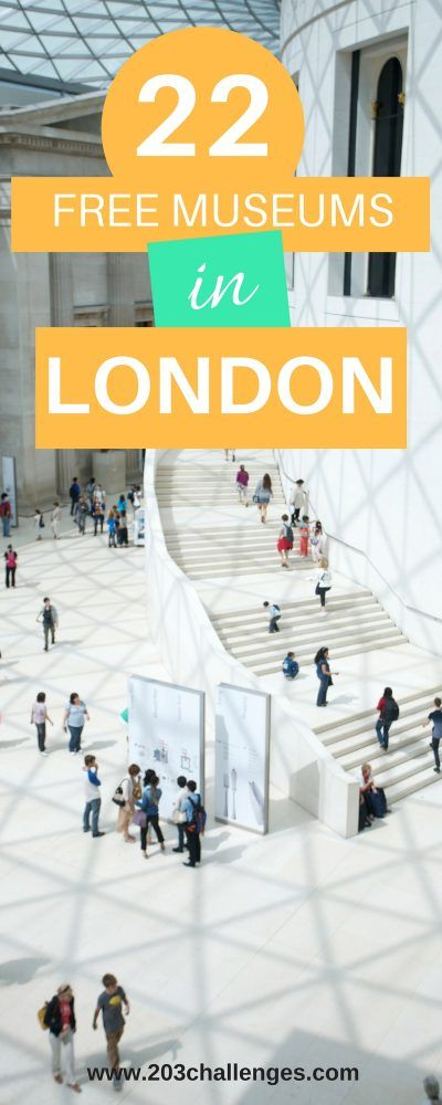 LONDON, England. Discover the best free museums and galleries in London  free things to do   UK   UK destinations